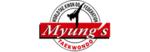 Master Myungs taekwondo academy logo