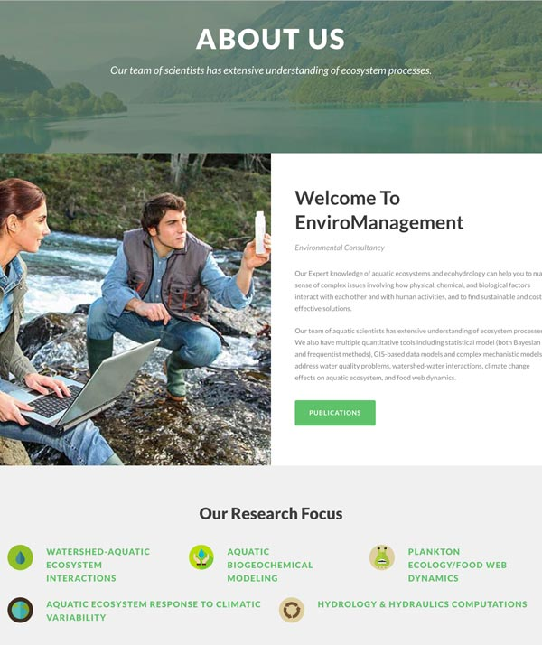 portfolio enviromanagement experts
