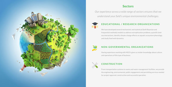 enviromanagement sectors