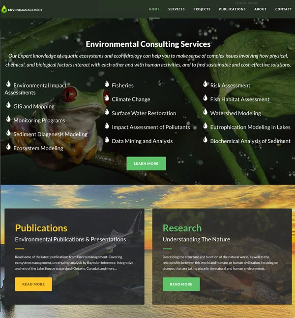 enviromanagement publications